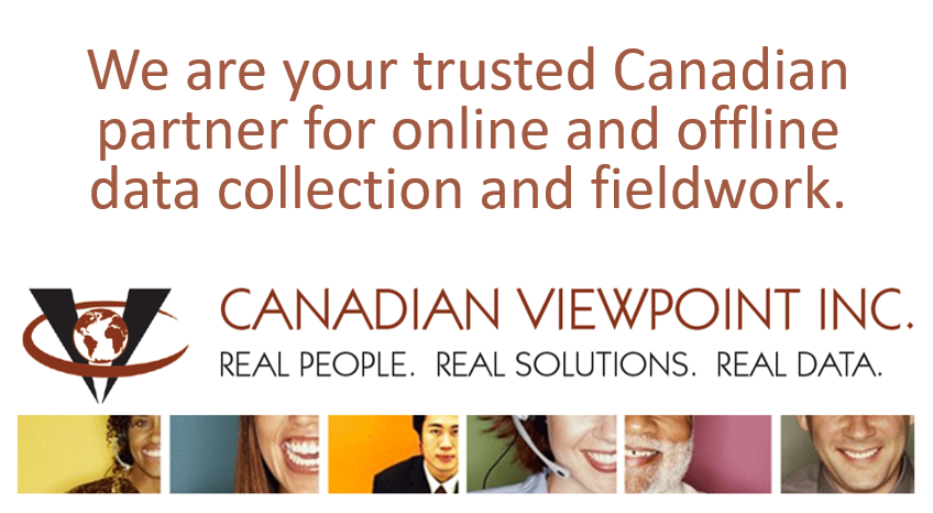 Canadian Viewpoint - Online and offline fieldwork and data collection. https://canview.com/
