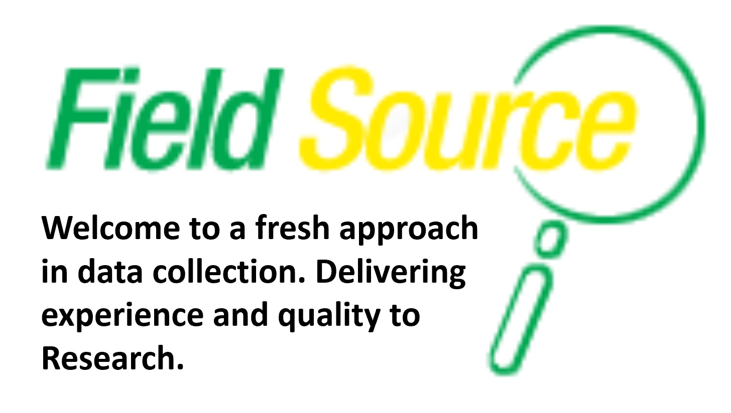 Field Source Marketing Research - Welcome to a fresh approach in data collection. Delivering experience and quality to Research.